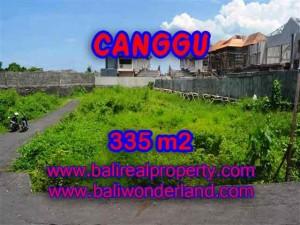 INVESTASI PROPERTI DI BALI - TANAH DI CANGGU BALI DIJUAL CUMA RP 3.850.000 / M2