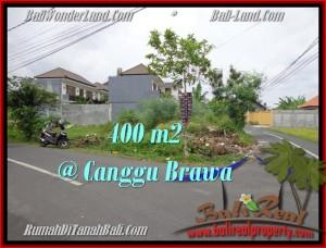 TANAH MURAH di CANGGU BALI DIJUAL 400 m2 di Canggu Brawa