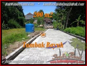 JUAL MURAH TANAH di CANGGU 200 m2 View kebun pemukiman