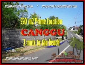 JUAL TANAH di CANGGU 5,5 Are lingkungan villa