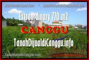TANAH DIJUAL di CANGGU BALI Untuk INVESTASI TJCG148
