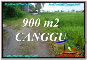 TANAH DIJUAL di CANGGU BALI 900 m2 View sawah lingkungan villa