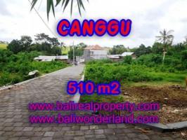 JUAL TANAH DI CANGGU CUMA RP 5.750.000 / M2