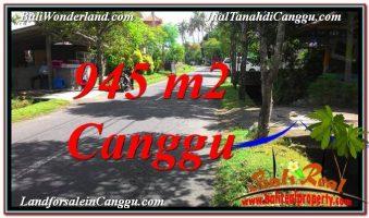 JUAL MURAH TANAH di CANGGU BALI 9.45 Are Lingkungan Villa